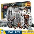 1368 шт. властелин Колец Битва Хельмово ущелье 16013 Топор Модель Строительство Комплект Блоки Игрушки Кирпичи Совместимы с Lego
