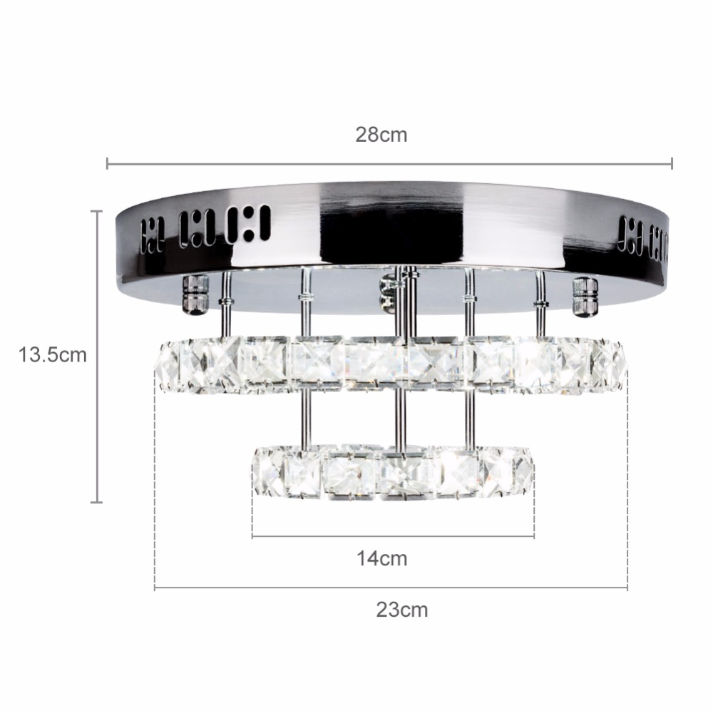 crystal led ceiling light 04