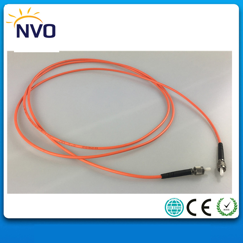 Free Shipping SMA-SMA MM(50/125) Simplex 1M,PVC Jacket,3.0 Mm SMA Fiber Optic Patch Cord