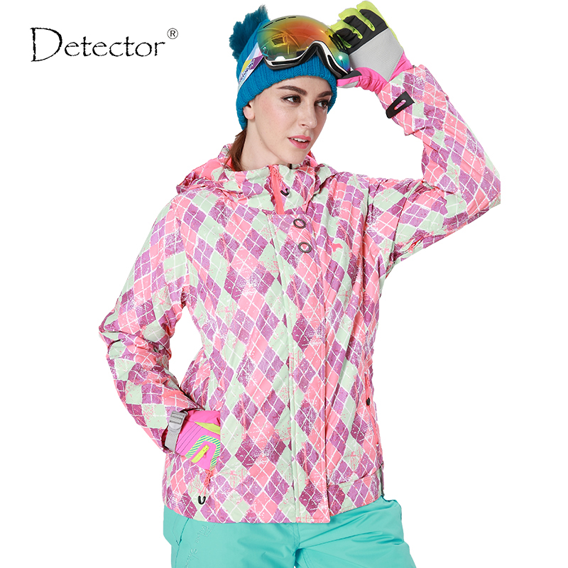 Livraison directe nouvelle marque neige veste imperméable coupe-vent thermique manteau randonnée camping cyclisme veste hiver ski veste femmes