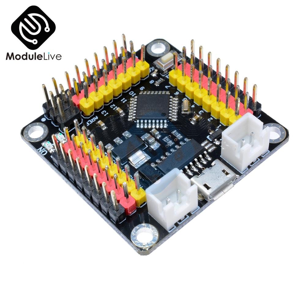 DM CH340 CH340G TTL USB NANO V3.0 Atmega328 Pro Mini Strong Module Atmega328P Microcontroller Board For Arduino IIC I2C SPI 50pcs ch340g ch340 sop 16 new original