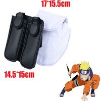Naruto Uzumaki Leaf Village Ninja Kakashi Cosplay Weapon Bag Leg Kunai Pack