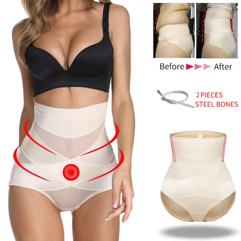 Tummy Control Panties Woman Shapewear High Waist Shaping Pantiy Slimming Body Shaper Belly Shapers Butt Lifter Waist Trainer
