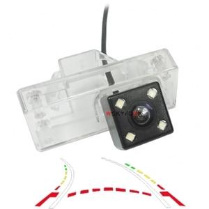 HD CCD reverse camera for Toyota Land Cruiser LC 100 120 200 Prado Reiz Mark x car rear view camera Dynamic trajectory camera