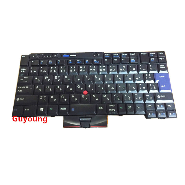 Laptop Japanese Keyboard For LENOVO Thinkpad T410 T420 X220 T510 T510i T520 T520i W510 W520 T400S T410I T420I X220i T410S T420S