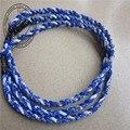 Dhl frete grátis hot vender tornado colares 3 cordas trançadas colares titanium colares de esportes de alta qualidade