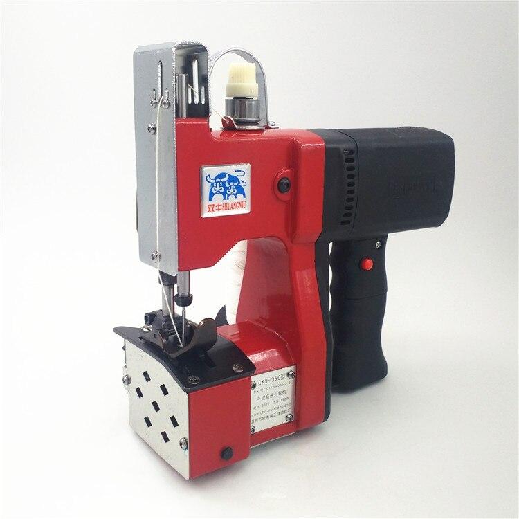 Manual Sewing Machine Automatic Tangent Hand Woven Sewing Machine Hand Packet Sewing Tool GK9-350 new manual shoe making sewing machine