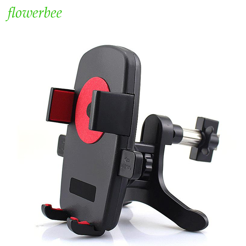 Car Universal Use Air Vent  For Most Smart Phones Adjustable Plastic Holder For iPhone X 7 SE 6 6S For Samsung LG