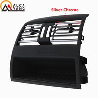 Rear Center Console Car Flow In Fresh Air Outlet Vent Grille Grill Cover Fits Air Conditioner Vent Protective For BMW 5 F10 F11