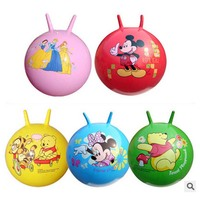 18 Inch Thickened Bouncing Ball Toys High Quality Inflatable Cartoon Jumping Ball Bounce Stress Ball Kids
