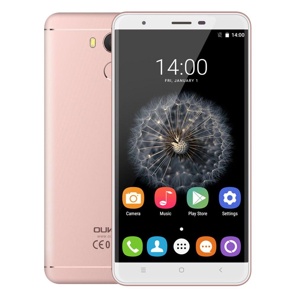 Original oukitel mt6753 u15 pro smartphone octa core android 6.0 teléfono móvil