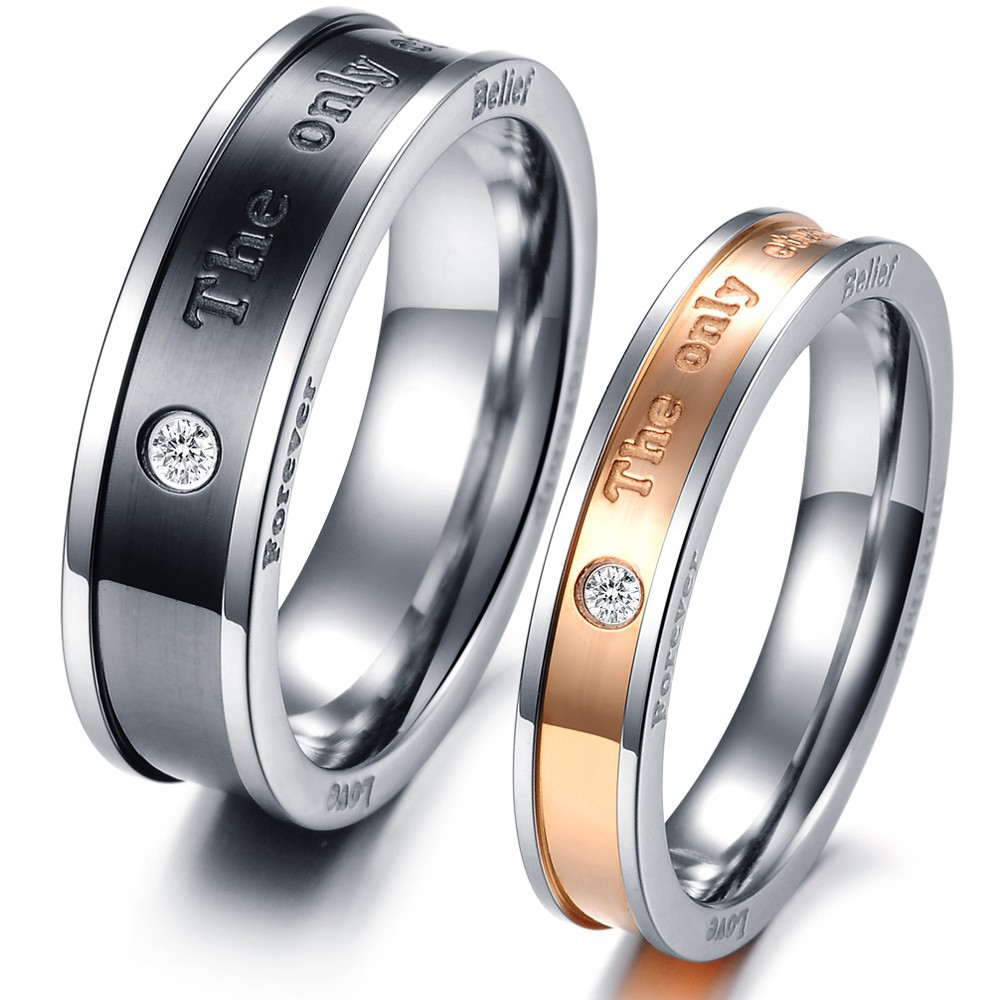Online Buy Wholesale couple rings korea from China couple rings ...