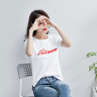 Printed Letter Cotton Pegnancy Breastfeeding T Shirt Clothes for Pregnant Women Maternity Nursing T shirt Pregnancy Tunic Tops