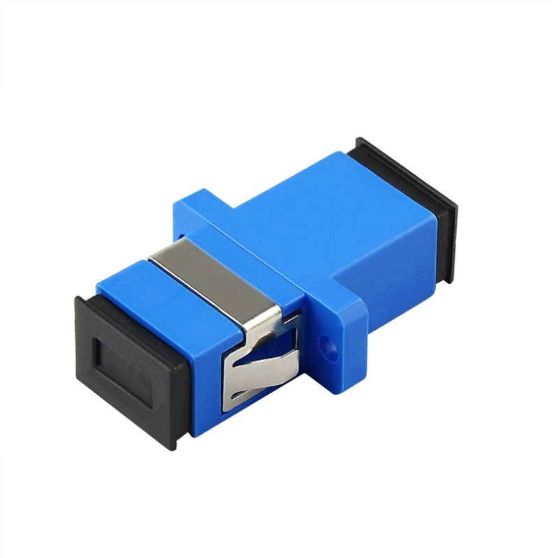 100pcs/lot SC/UPC Adapter New SC Female Fiber Optic Simplex Single Mode SC Flange with Flange Plastic Fiber Coupler100pcs/lot SC/UPC Adapter New SC Female Fiber Optic Simplex Single Mode SC Flange with Flange Plastic Fiber Coupler