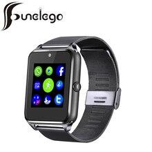 Funelego Smart Watch Z50 Z60 Model With SIM Cord Camera Touch Clocks Bluetooth Smartwatch Waterproof Wrist Watches Cell Phone