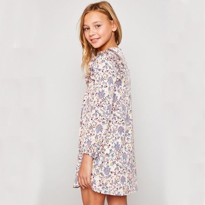 7cb5af572622 HAYDEN Girls Floral Dress 8 Years 2018 Spring Summer Teenage Girls ...