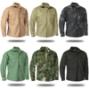 Mege Brand Autumn Spring Military Style Men Shirt Long Sleeve Tactical Camouflage US Army Shirt Ripstop Casual Blouse Uniform 2