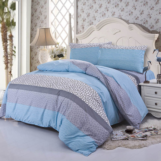 55ded0295683 Hot Sale 4Pcs Bedding-set Family Bedding Set Bed Sheets Pillow Duvet Cover  King Size Linens Bedspread No Cotton Comforter