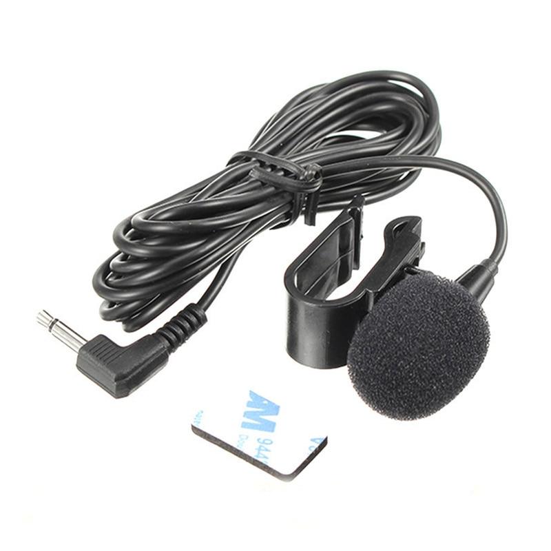 Оптовая продажа, 2,5 мм/3,5 мм Автомобильный GPS Bluetooth навигатор микрофон всенаправленный внешний усилитель микрофона 1,5 м микрофоны