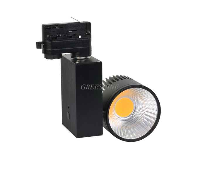 5year warranty Dimmable LED Track Light 20W 120LM/W 2/3/4 wire available Commercial Spot LED AC100-240V 8pcs/lot
