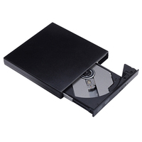 עבור מחשב נייד הכונן האופטי החיצוני DVD ROM USB 2.0 CD / DVD-ROM CD-RW השחקן הצורב Slim Reader Portable Portatil המקליט עבור מחשב נייד (5)