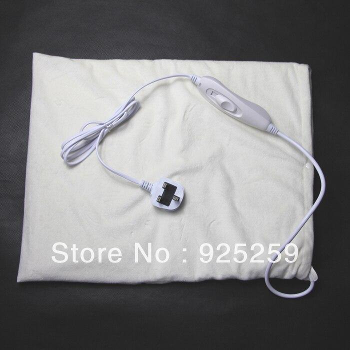 Suave manta eléctrica con caja de Control LED de indicación humana