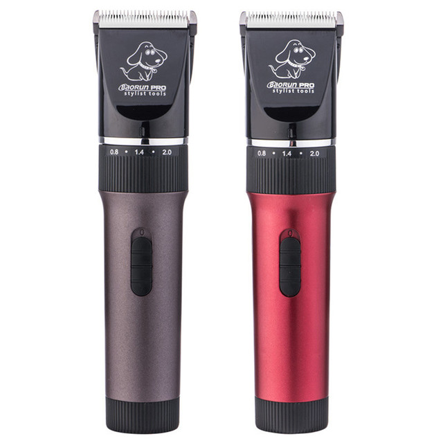 New Low-noise Rechargeable Pet Cat Dog Hair Trimmer Electrical Dog Hair Clipper Grooming Shaver Set Pets Haircut Machine