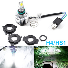 SO.K H4 LED Motorcycle Headlight Bulbs For Auto Car H7 H8/H11 HB3/9005 HB4/9006 H1 H3 9012 Socket 6000K Light
