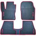 Специальные бесплатная доставка нет запаха резиновый водонепроницаемый ковры без скольжения easy clean латекс автомобильные коврики для Фокус Fiesta Kuga Ecosport