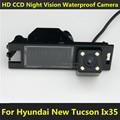 Para Hyundai New Tucson IX35 2006 2007 2008 2009 2010 2011 2012 2013 2014 Visão CCD Noite câmera Do Carro de Backup Câmera de Visão Traseira estacionamento