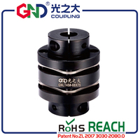 GNLT 45# Steel Stepped Double Diaphragm Clamp Series 45# Steel shaft coupling D50 L57