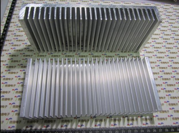 1 pc 200*90*30mm Heatsink Cooling Fin Radiator Cooler Aluminum Heat Sink for LED, Power IC Transistor, Module PBC 200X90X30mm