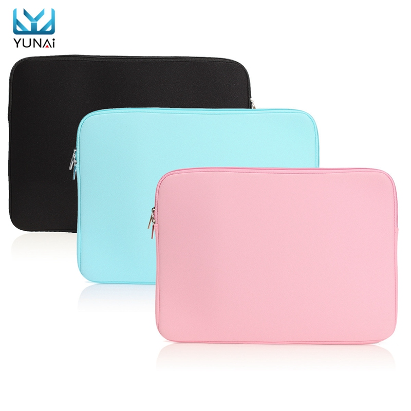 YUNAI Portable Carry For Macbook 15inch Pro Retina New For Macbook 15 Case Cover Sleeve Bag New Felt Laptop Notebook Cover Case