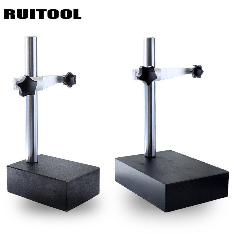 Dial Indicator Base 00 Grade Marble Test Board Adjustable Height Precision Gauge Stand Holder For Digital Dial Test