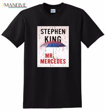 MR MERCEDES T SHIRT stephen king novel SMALL MEDIUM LARGE OR XL mr mercedes