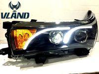 VLAND производитель для автомобиля фара для Светодиодный corolla светодиодные фары 2011 2012 2013 головной свет с ксеноновой HID объектив проектора и де