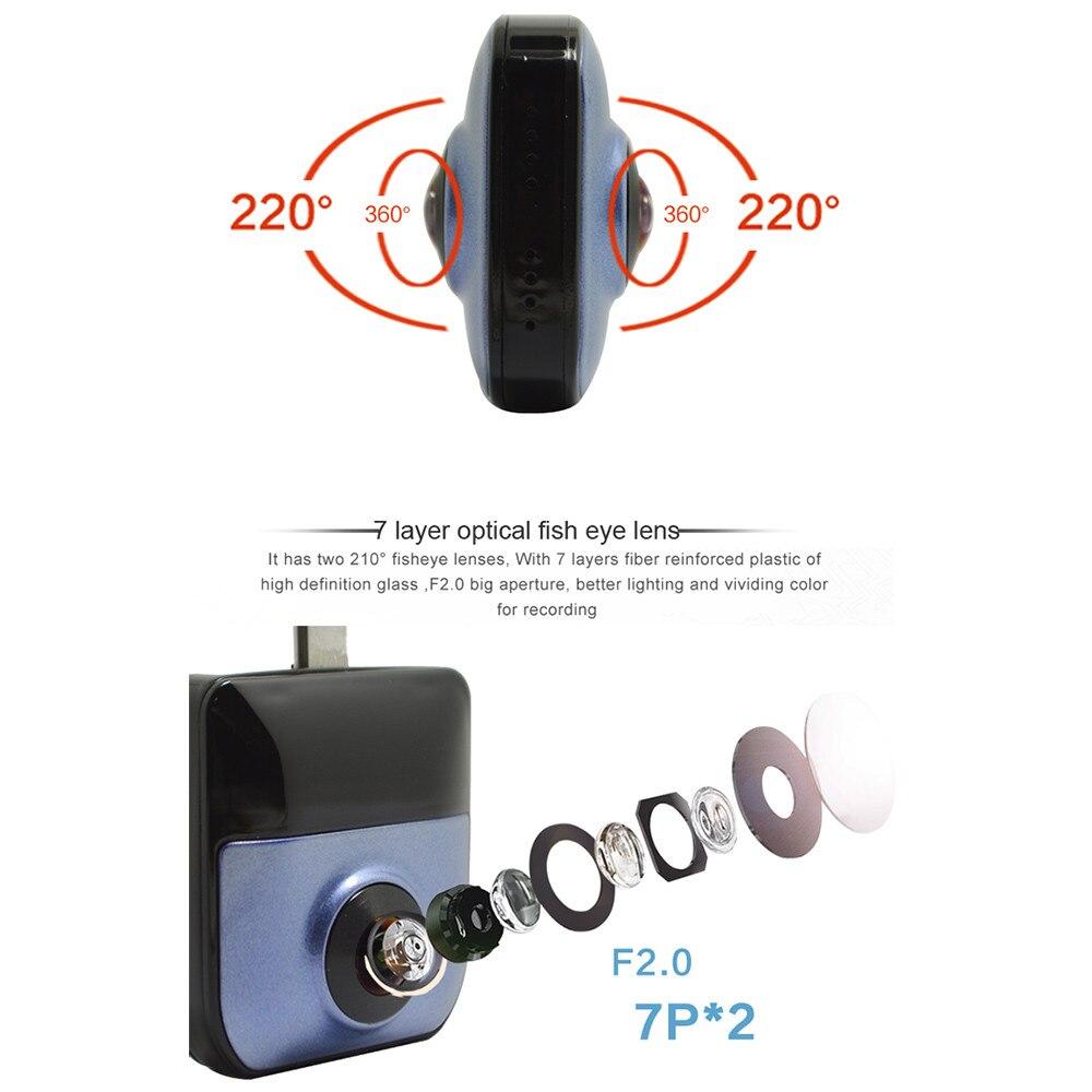 C8 экшн камера с Wi Fi камера HD 720 P дистанционное воспроизведение видео маленькая микро ip камера Обнаружение движения Ночное Видение безопасно... - 5
