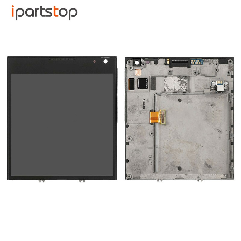 iPartsTop OEM Black White Display For Blackberry Passport Q30 LCD Screen Touch Digitizer With Front Frame Bezel Assembly Tested deuter giga blackberry dresscode