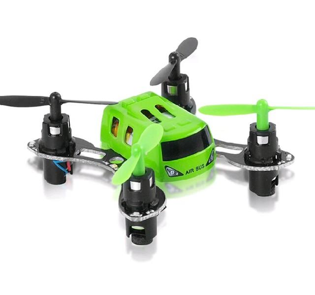 F16764/5 Bus 2.4G 4CH JXD 395 de Aire de $ Number Ejes Gyro Súper Mini Helicóptero de Control Remoto RC Quadcopter Drone UFO LED 5x5 x2.5cm