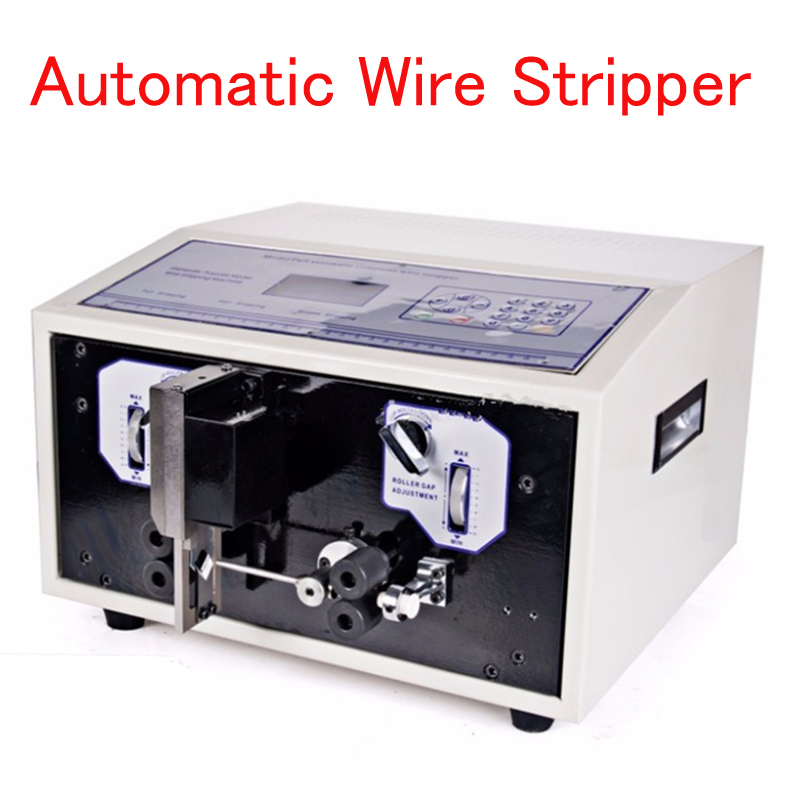 Automatische Draht Stripper 110 220 V draht cutter 0,1 6mm2 SWT508D II Computer streifen maschine mit LCD display draht stripper werkzeug