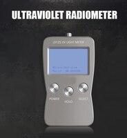 LS125 уф счетчик тесты ультрафиолета мощность интенсивности уф энергии для UVA UVB UVC поддержка 7 зонд с водостойкий сенсор