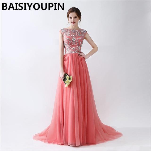 10b89bfbf Ropa barata China Vestido De Festa Longo Para Casamento 2019 Vestido De  longitud piso vestidos De