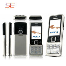 6300 Unlocked Original Nokia 6300 Cell phone support Russian keyboard free shipping