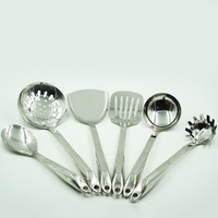 Top Selling Special Design High Quality 201 Stainless Steel Kitchen Tool Swan Shape Handle Kitchenware Set