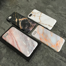 Coral Grain Marble Phone Case For Iphone 66s 6p 78 8p x Xs Xr Xsmax Mobile