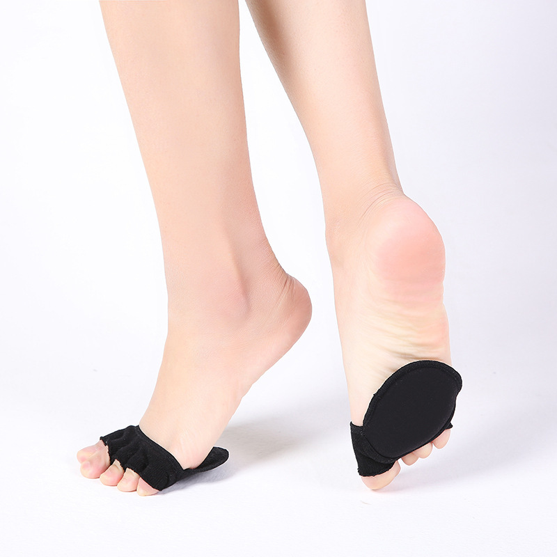 1 Pair Toe Peds Separator Forefoot Insole Shoes Pads High Heel Soft Insole Anti-Slip Cushions Pain Relief Protection Foot Care ...