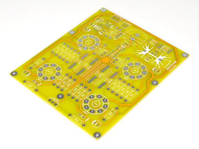 ZEROZONE PRT 11A 6N8P6SN7 Tube Preamplifier Bare PCB Base On Gary CARY