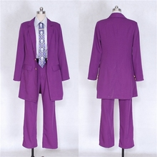 Anime JOJO JoJos Bizarre Adventure 4 Kira Yoshikage Cosplay Costume halloween costume custom made