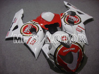For Suzuki GSXR 1000 K5 2005 2006 Injection ABS Fairing Kits GSXR1000 K5 05 06 Lucky Strike White Red