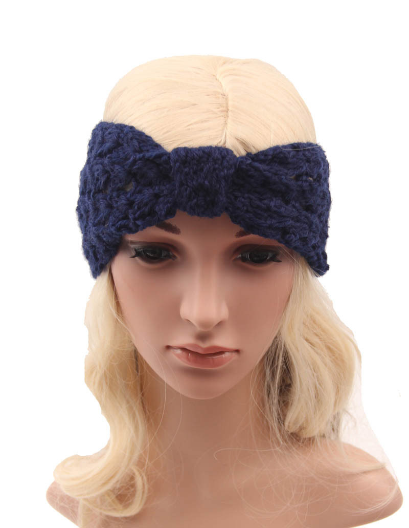 Frauen Damen Winter Häkeln Muster Stirnbänder Ohr Wamer Twist Turban ...